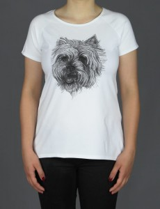 Koszulka/T-shirt damski West Highland White Terrier