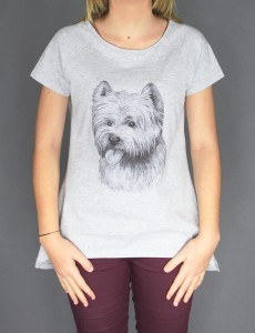 Koszulka/T-shirt damski West Highland White Terrier II